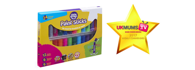 MUMS EVERYWHERE LOVE OUR LITTLE BRIAN PAINT STICKS!