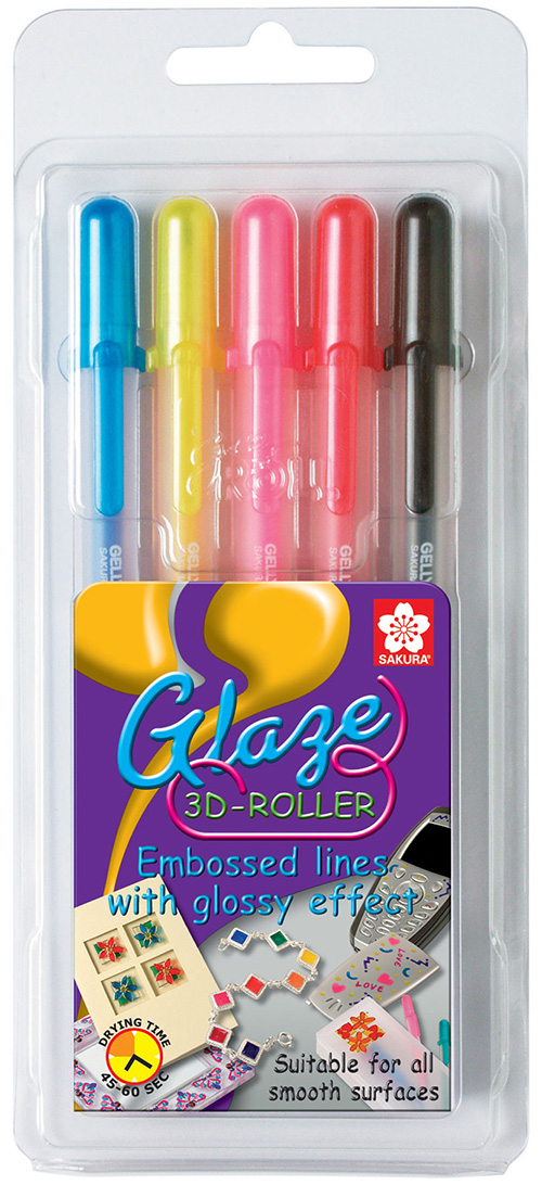 Glaze 3D-Roller Blister 5 Light