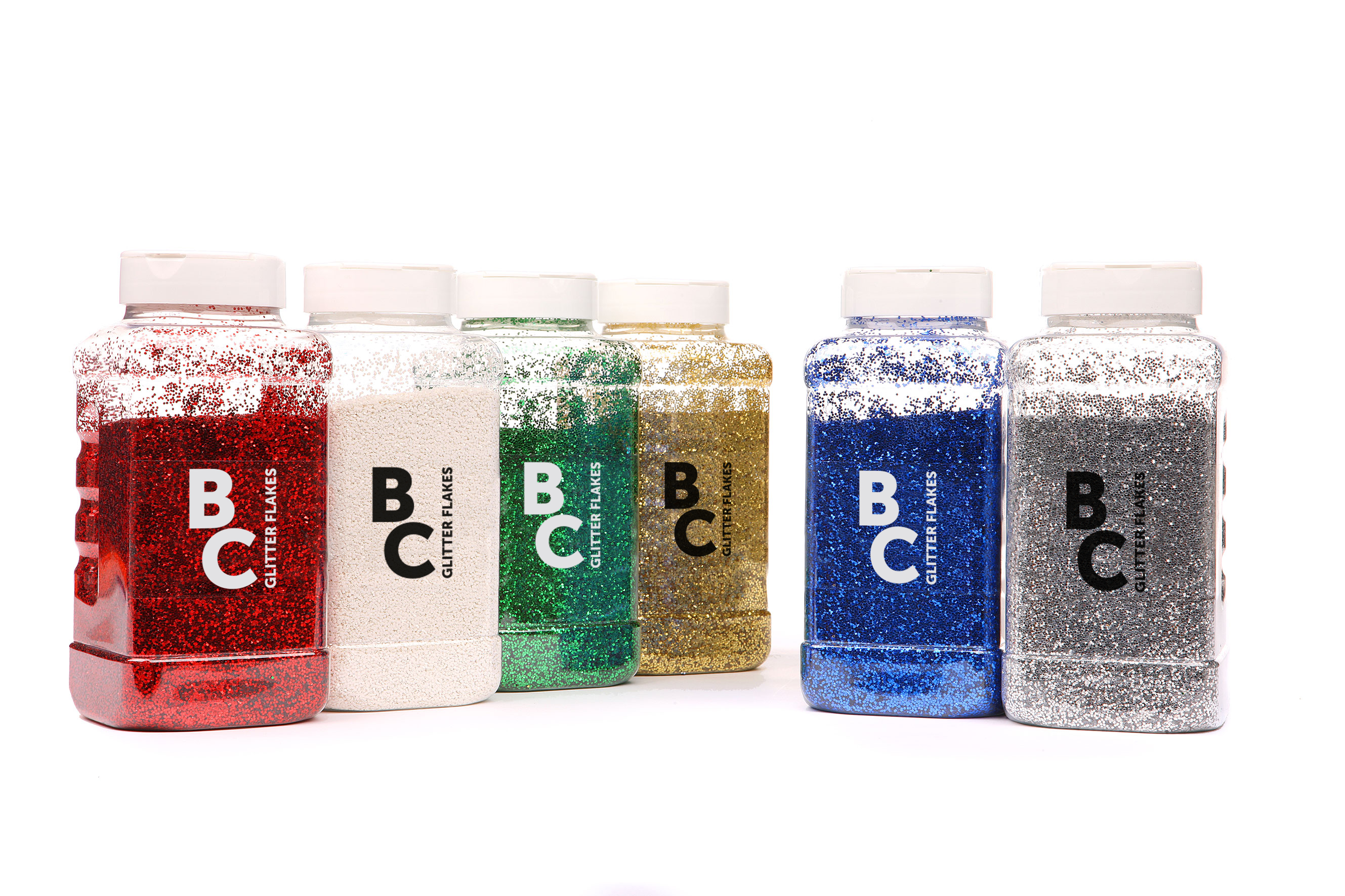 Glitter Single Std Shades 500g Shaker