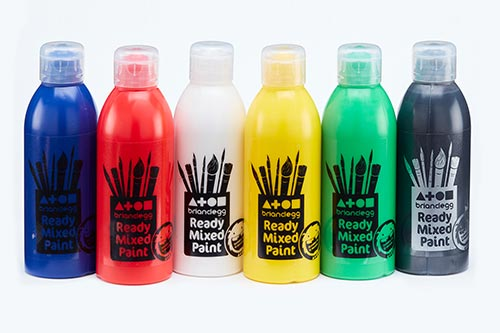 Ready Mixed Paint Single Std Colours 300ml Bottle
