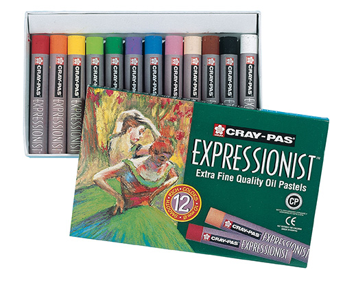 Cray-Pas Expressionist Set 12 Oil Pastels