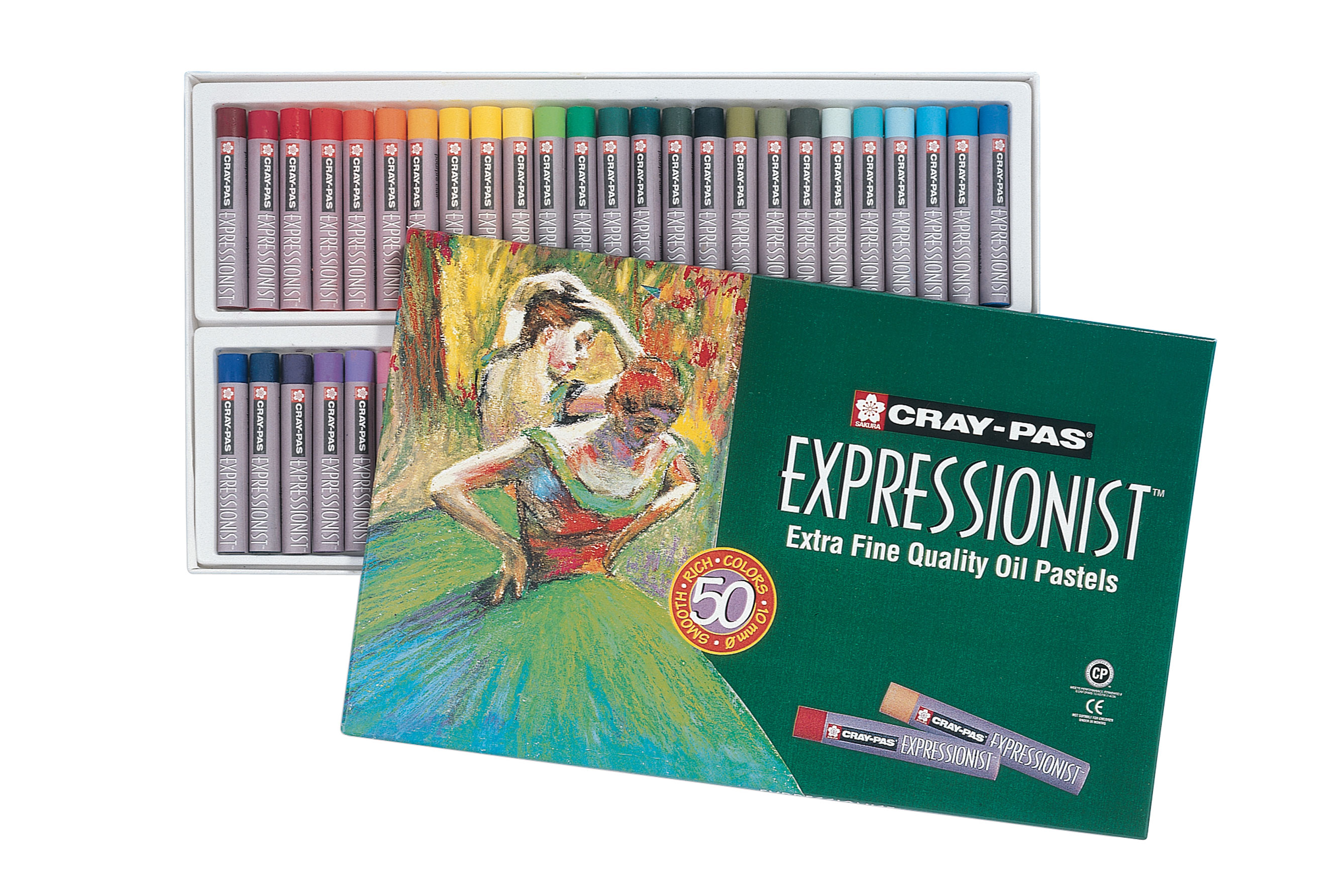 Cray-Pas Expressionist Set 50 Oil Pastels