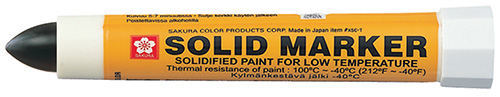 Solid Marker Low Temperature Black