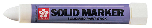 Solid Marker White